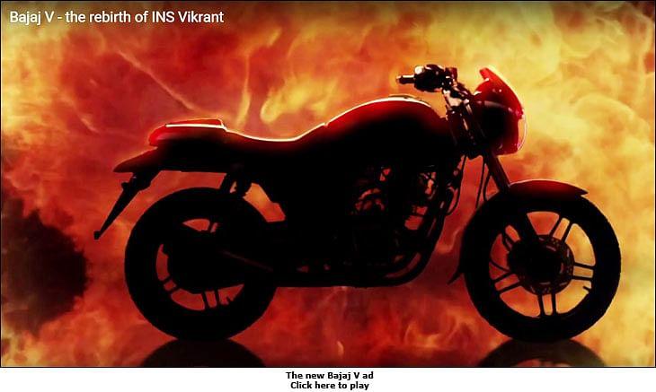 Bajaj V: A piece of INS Vikrant in your bike