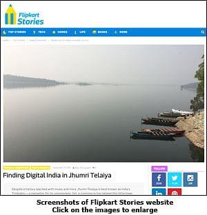 Flipkart turns story-teller