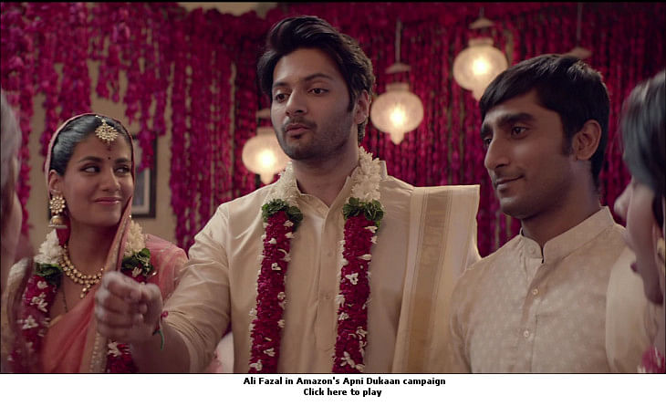 afaqs! Creative Showcase: Amazon rescues Ali Fazal