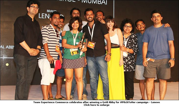 Goafest 2016: JWT India Leads Creative Abby Tally; Wins 5 Gold Awards