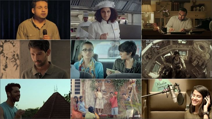 Astronauts, comedians, chefs, musicians... What next in ad-land?