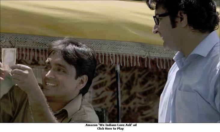 """afaqs! Creative Showcase: Amazon says, """"We Indians love asli"""""""