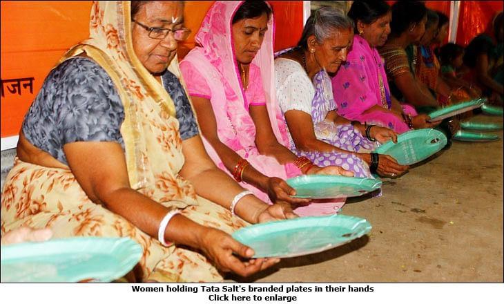 Tata Salt at Kumbh Mela: One lakh branded plates, 35 tonnes of salt, 15 'akharas'