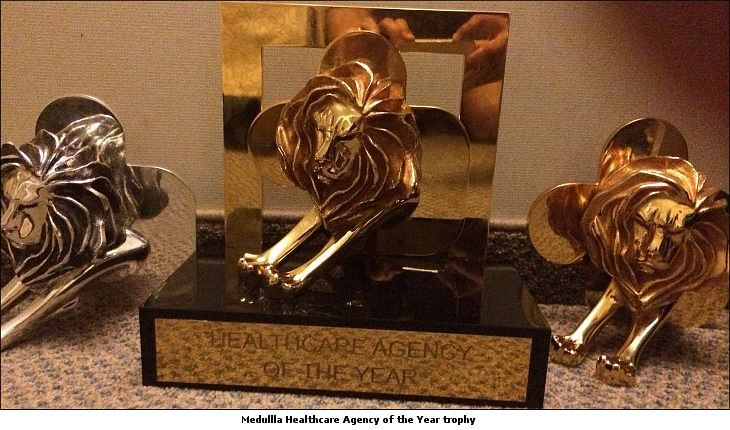 Cannes Lions 2016: Medulla Communications wins 2 Gold Lions and 'Healthcare Agency of the Year' title