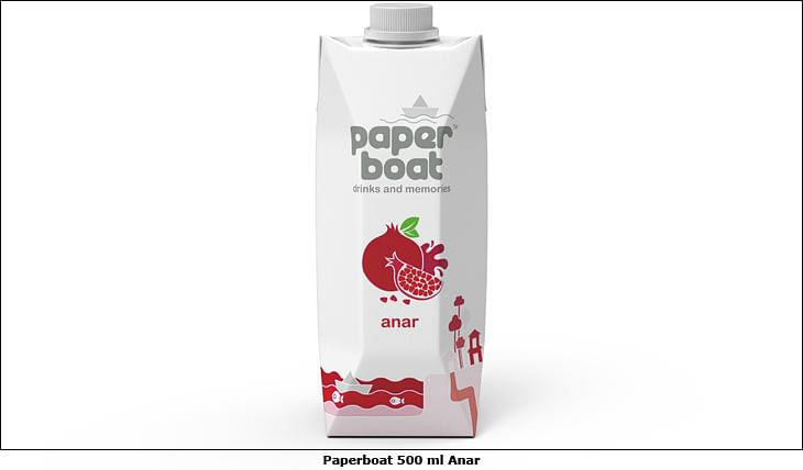 Paperboat pushes in-home consumption with 500 ml Tetra Pak cartons