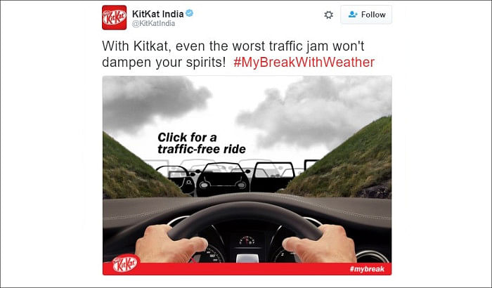 When Kit Kat helped Twitterati enjoy a memorable #MyBreak...