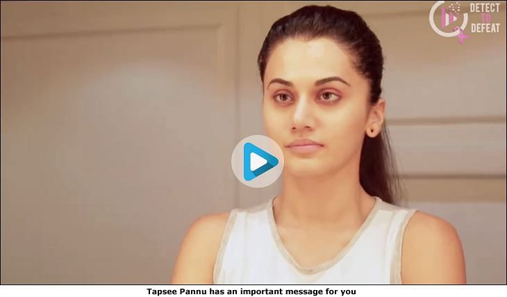 Why are Tapsee Pannu, Priya Bapat, Neeti Mohan, Sunny Leone staring at themselves in the mirror?