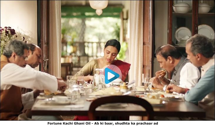 Fortune Mustard Oil does a 'Jaago Re'