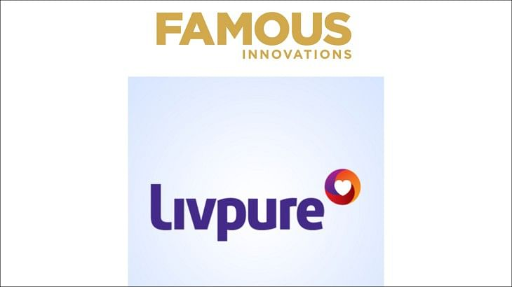 Famous Innovations bags creative duties for Livpure