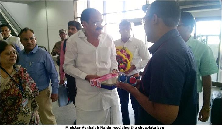 My FM surprises its listeners at Ahmedabad airport