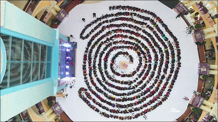 Bajaj Almond Drops Hair Oil enters the Guinness World Records