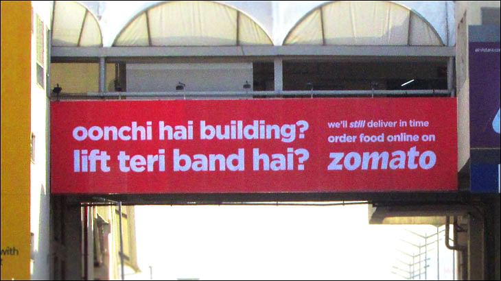 No one knows how to say 'bolognese' Zomato assures in clever outdoor ad