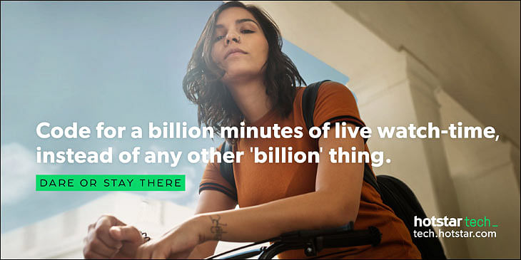 Hotstar's new campaign targeting enthusiasts minds to run till January 22