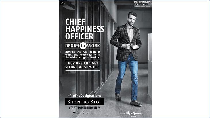 Chief Everything Officers wear denim to work...