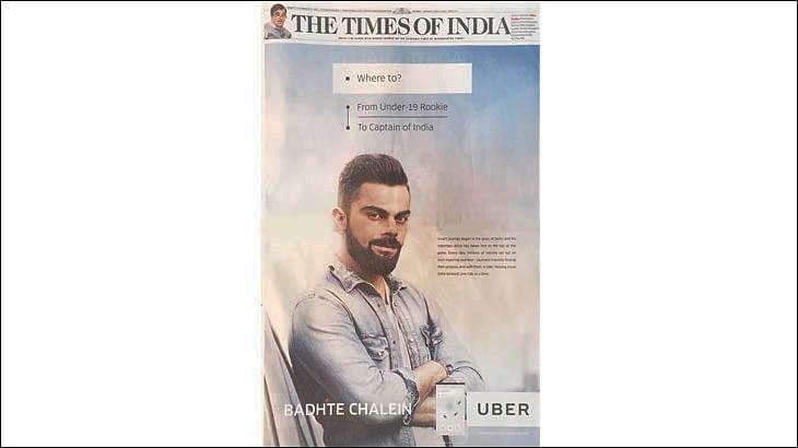 """Virat uses Uber when he is abroad"": Sanjay Gupta, the brand's marketing boss"
