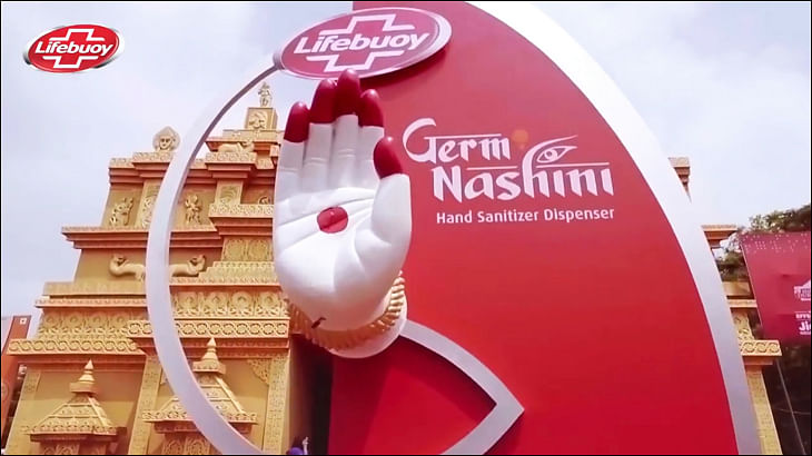 Lifebuoy's Germ Nashini campaign brings cleanliness closer to godliness - literally!