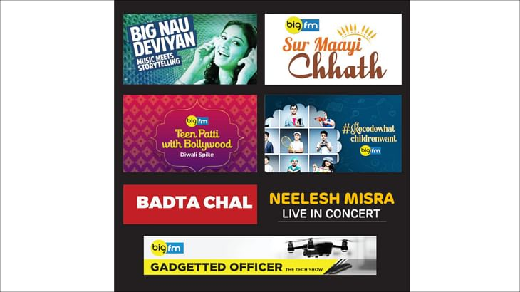BIGFM launches 10 programmes to celebrate the festive spirit of its listeners