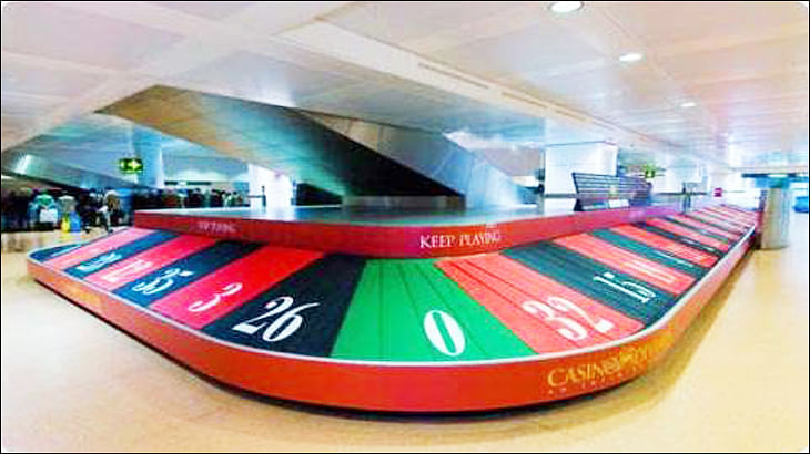 When Nerolac turned baggage belts into shade cards