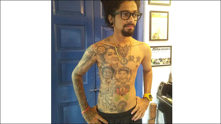 Meet the man with over 400 brand logo tattoos