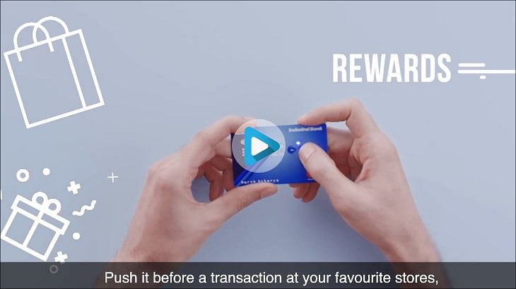 IndusInd's OOH spots are using 'buttons' to catch eyeballs
