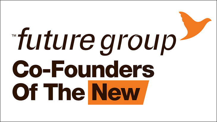 Future Group flaunts new logo in its recent print ad...