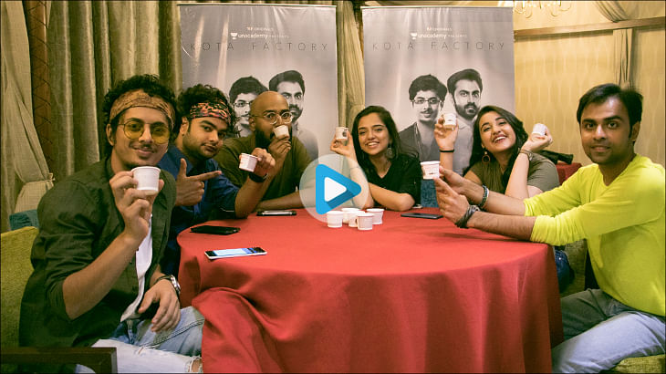 CupShup promotes TVF's original web series Kota Factory through tea cups