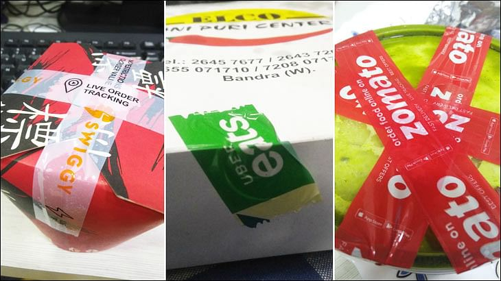 Should food delivery brands fret when 'cellotape branding' goes wrong?