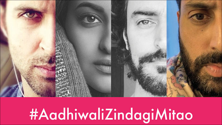 Siriti's half-face campaign for Thalassemia reaches 60 million people in the first 24 hrs