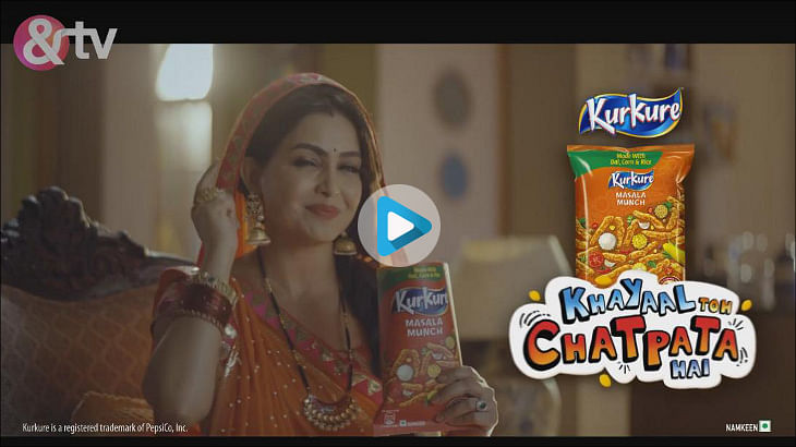 Kurkure partners with ZEEL for in-show integration of new brand positioning #KhayaalTohChatpataHai