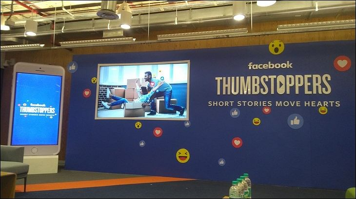 Facebook partners with creative agencies to create 'thumbstopping' content