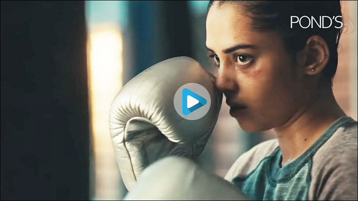 HUL's new Pond's spot ditches beauty for boxing and bruises...
