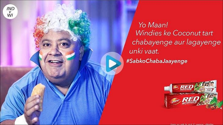 Dabur Red Toothpaste Cricket World Cup 2019 Campaign industry news