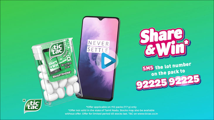 Pop in Tic Tac to bag yourself a OnePlus 7?