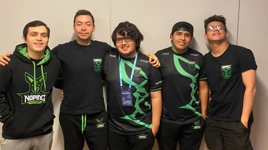 """<div class=""""paragraphs""""><p>NoPing e-sports' roster at the WePlay AniMajor</p></div>"""