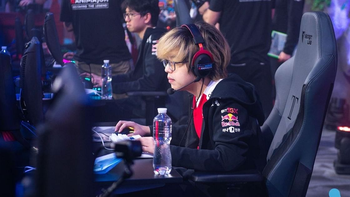 T1 Xepher at the WePlay AniMajor
