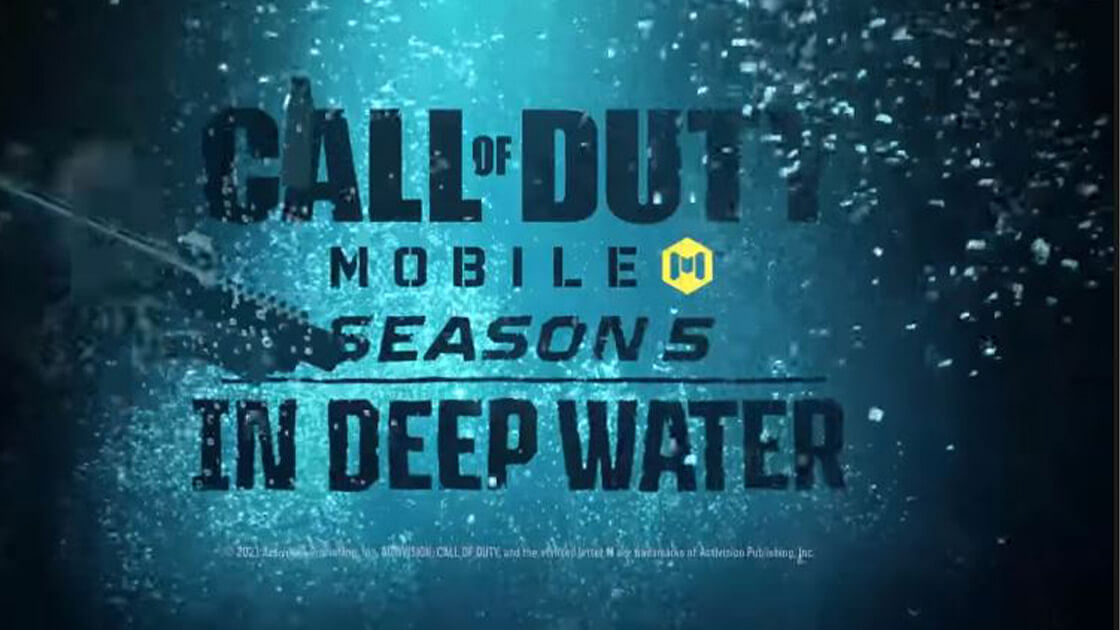 """<div class=""""paragraphs""""><p>Cod Mobile Season 5 will be called """"In Deep Water.""""</p></div>"""