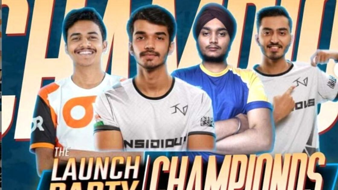 Team Snax Wins Inaugural BGMI Tournament 'The Launch Party'