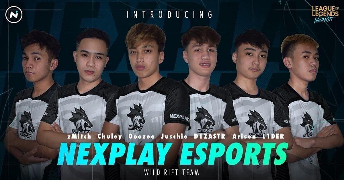 """<div class=""""paragraphs""""><p>Nexplay Esports' Wild Rift team</p></div>"""