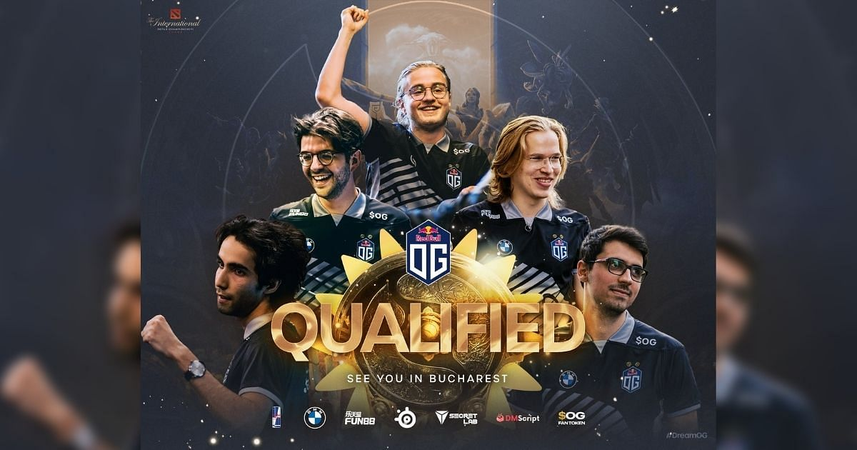OG's  roster that will compete at TI10