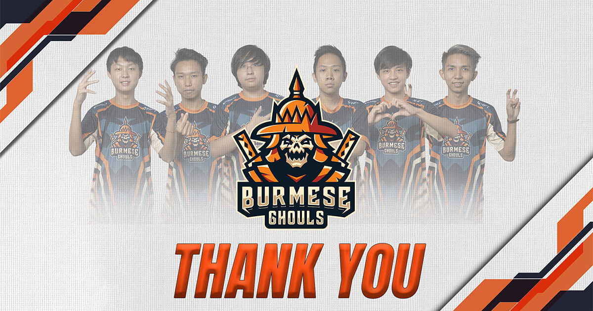 Burmese Ghouls Releases its Mobile Legends Roster