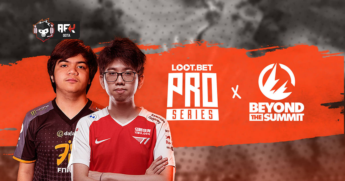 T1 Kuku and Fnatic Raven will play at the BTS Pro Series S7