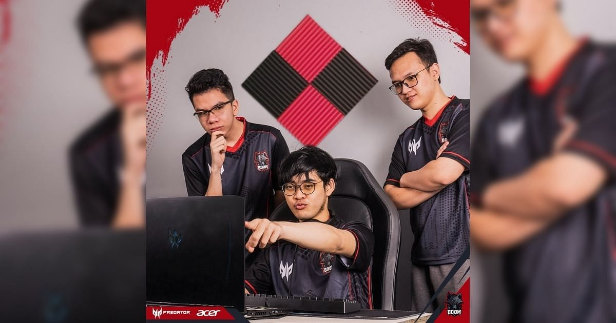 """<div class=""""paragraphs""""><p>BOOM Esports' Fbz, Dreamocel, and Hyde (left to right)</p></div>"""