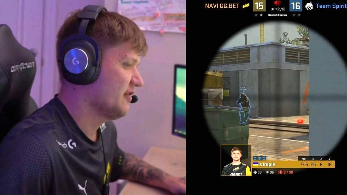 """<div class=""""paragraphs""""><p>S1mple's Wild AWP Clutch In Overtime Against Team Spirit At CIS RMR</p></div>"""