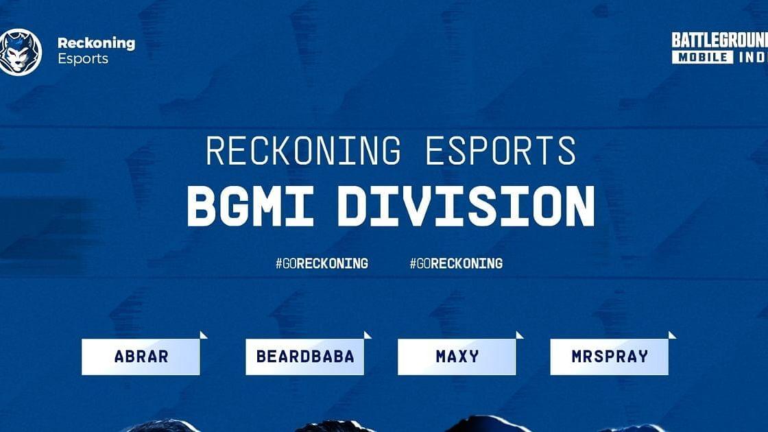"<div class=""paragraphs""><p>Reckoning Esports Announce Their BGMI Roster</p></div>"