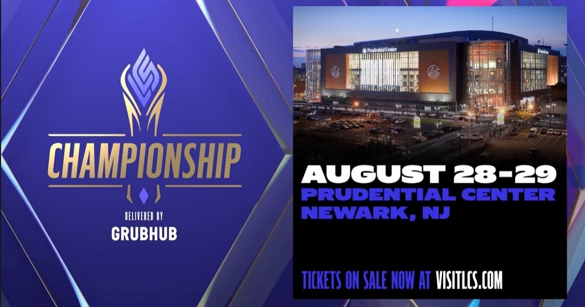 """<div class=""""paragraphs""""><p>The Prudential Centre, NJ will be gearing up to host the LCS Championship.</p></div>"""