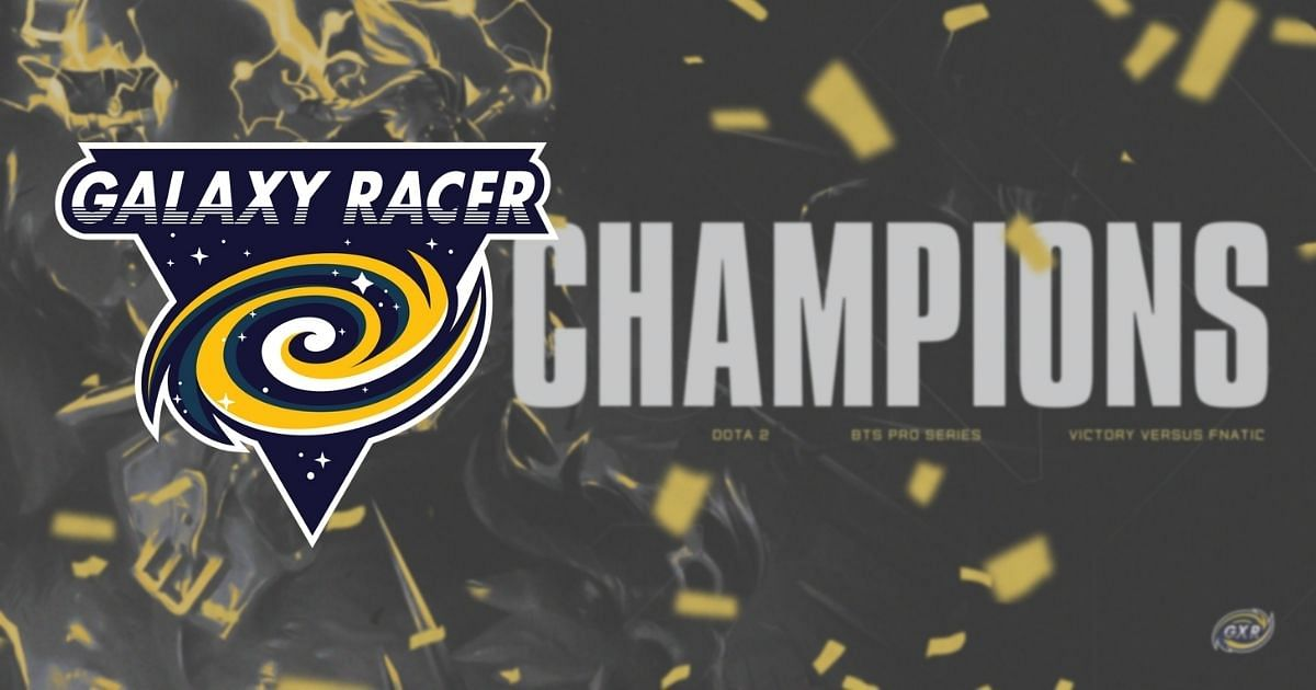 Galaxy Racer are the BTS Pro Series S7: SEA champions