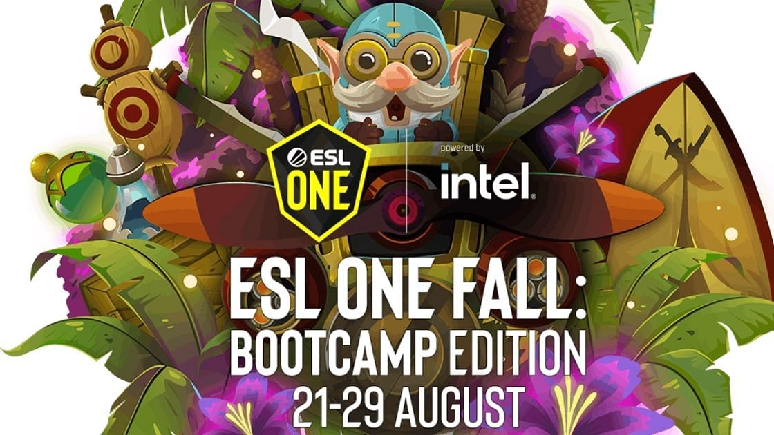 ESL One Fall 2021: Bootcamp Edition's schedule has been revealed