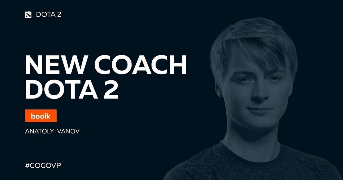 Virtus.pro's new Dota 2 coach