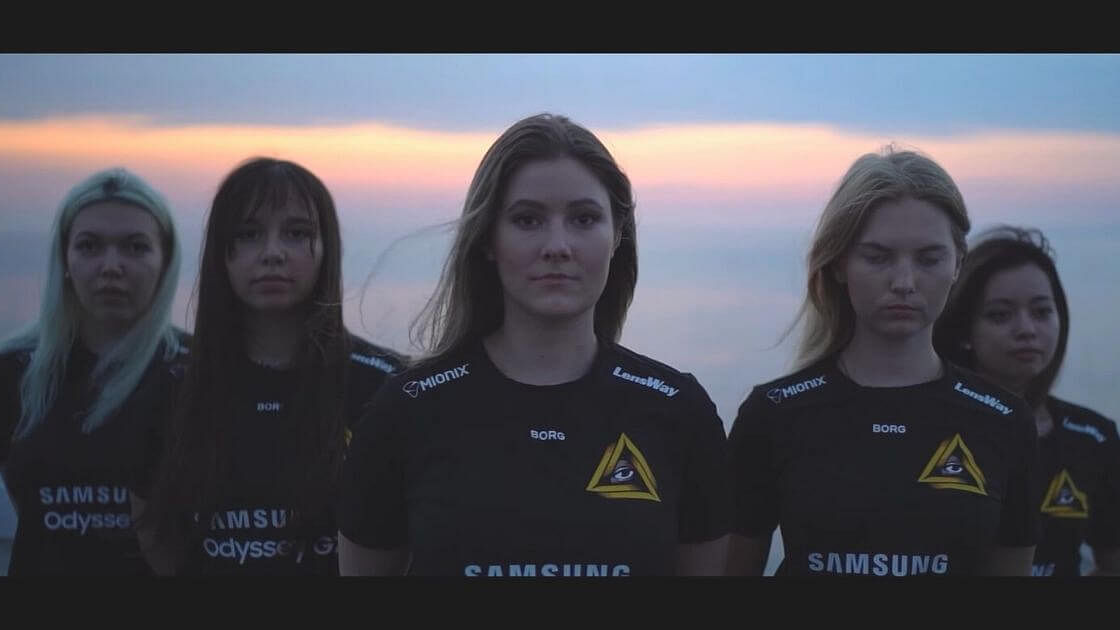 Swedish Organization GODSENT Announces A Female CS:GO Roster