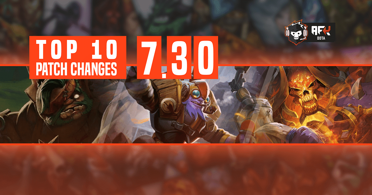 Here's our Top 10 Changes in Dota 2 Patch 7.30.